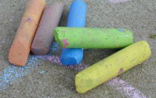 chalk-on-ground